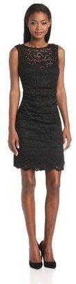 Velvet by Graham & Spencer Women's Lace Sheath Dress