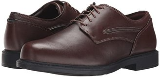 Dunham Burlington Waterproof (Smooth Brown) Men's Plain Toe Shoes