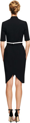 Peter Pilotto Ania Stretch-Crepe Embellished Dress