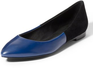 Theory Lili Two-Toned Ballet Flat