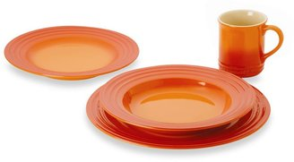 Le Creuset Dinnerware in Flame