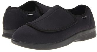 Propet Cush 'n Foot Medicare/HCPCS Code = A5500 Diabetic Shoe (Black) Men's Slip on Shoes