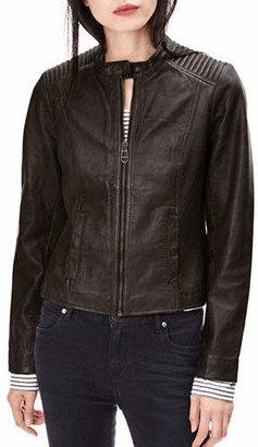 Liebeskind Berlin Leather Moto Jacket