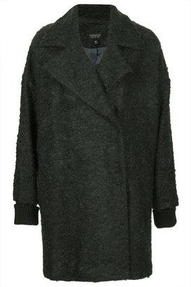 Topshop Mohair Boyfriend Coat