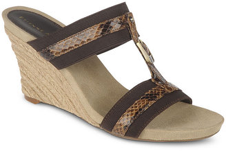 Etienne Aigner Shoes, Whitcomb Wedge Sandals