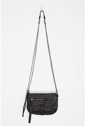 Urban Outfitters Deena & Ozzy Zip Pebbled Crossbody Bag
