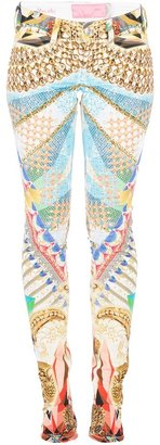 Notify Jeans printed skinny trouser