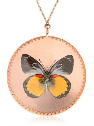 Delia's Delias Oraia Butterfly Pendant