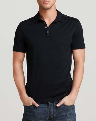 John Varvatos Collection Knit Collared Pullover - Slim Fit $198 thestylecure.com