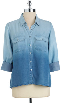 GUESS Ombre Chambray Shirt