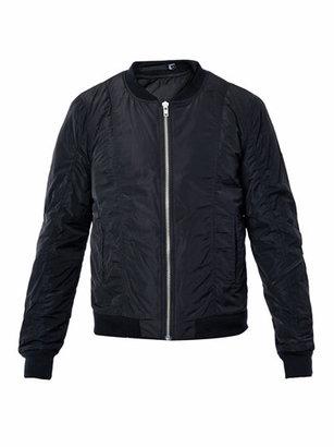 BLK DNM Padded bomber jacket