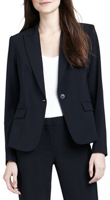 Theory Gabe 2 One-Button Blazer, Uniform