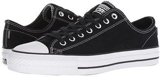 Converse Skate CTAS Pro Ox Skate (Black/Black/White) Lace up casual Shoes