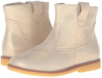 Elephantito Madison Ankle Boot (Toddler/Little Kid/Big Kid) (Gold 1) Girls Shoes