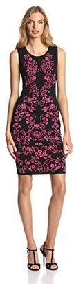 Cynthia Steffe Women's Briella Knit Sheath Dress