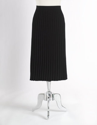 Kate Hill Pleated A-Line Skirt