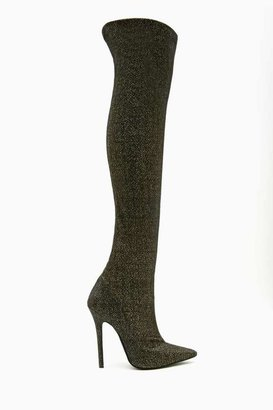 Nasty Gal Jeffrey Campbell Kinki Thigh High Boot