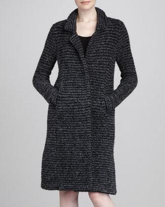 White + Warren Midi Lightweight Knit Coat