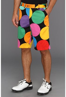 Loudmouth Golf - Big Balls Short (Black Multi) - Apparel