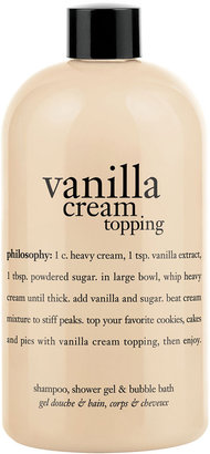 philosophy 'whipped Vanilla Topping' Shampoo, Shower Gel & Bubble Bath
