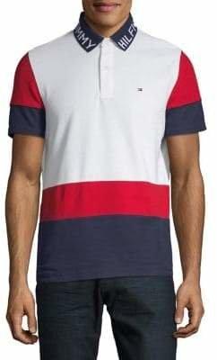 Tommy Hilfiger Spread Collar Short-Sleeve Polo