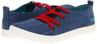 Blowfish Reflect (Indigo Cozumel Linen) - Footwear