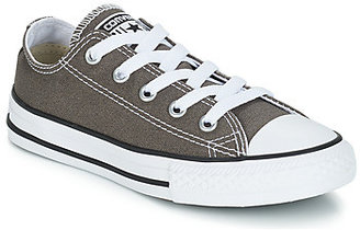 Converse OX girls's Shoes (Trainers) in Grey