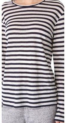 Alexander Wang Striped Long Sleeve Tee