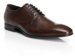 Hugo Boss Veros Calfskin Oxford Dress Shoes 11 Brown