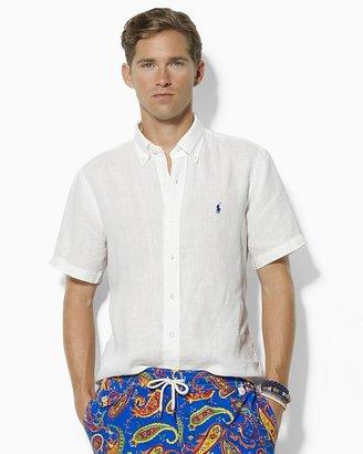 Polo Ralph Lauren Custom-Fit Short-Sleeved Linen Shirt