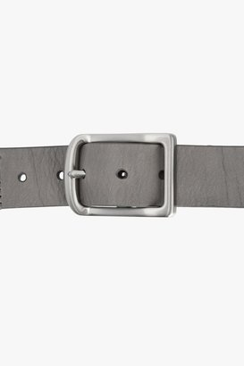 7 For All Mankind Metro Belt In Grey