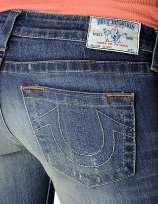 True Religion Hand Picked Vintage Skinny Womens Jean