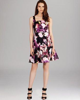 Karen Millen Winter Floral-Print Dress