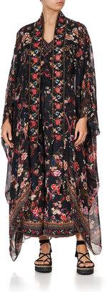 Camilla Printed Silk Kimono