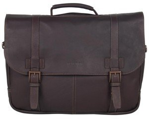 Kenneth Cole Reaction Colombian Leather Laptop Bag