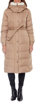 Kate Spade Heavyweight Belted Maxi Down Coat