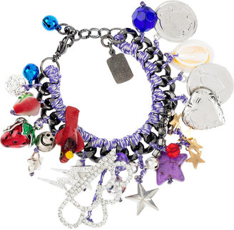Venessa Arizaga Flash charm bracelet
