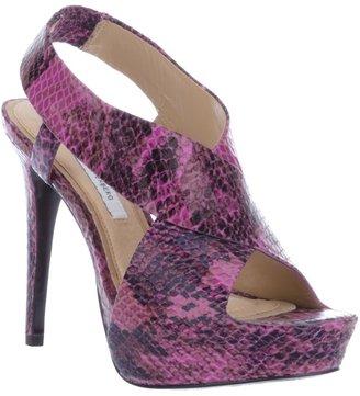 Diane von Furstenberg Snake-print sandal