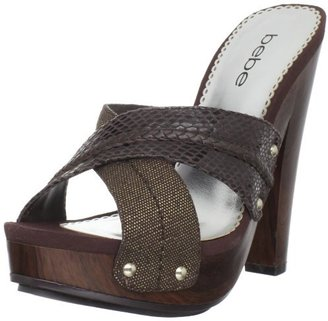 Bebe Women's Charity Platform Sandal