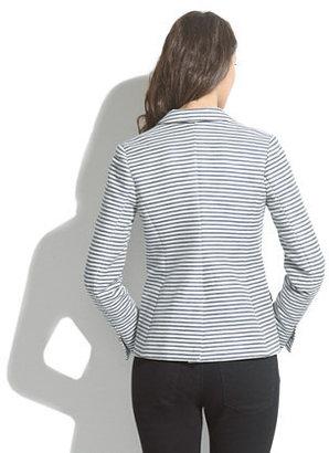 Madewell Tailored Blazer in Stripe