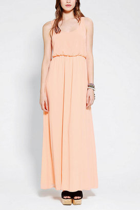 Urban Outfitters Pins And Needles Breezy Chiffon Maxi Dress