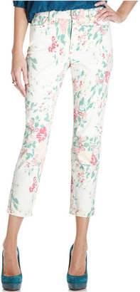 Not Your Daughter's Jeans Not Your Daughter's Jeans, Kendal Skinny Capri, Painted Bouquet Wash