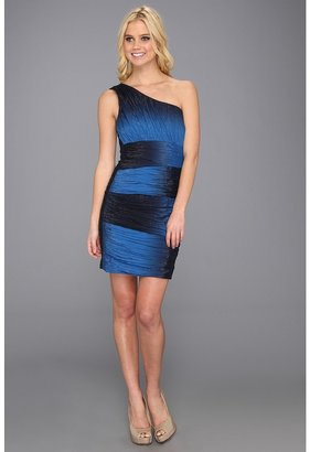 Max & Cleo Karen Woven Cocktail Dress (Starlight Blue Combo) - Apparel