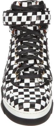 Givenchy Bicolor Woven High Top