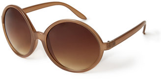 Forever 21 F8713 Oversized Round Sunglasses