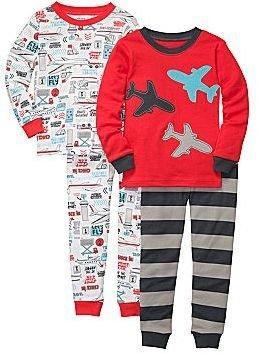 Carter's Carter's® 4-pc. Planes and Trains Pajamas - Boys 12m-24m