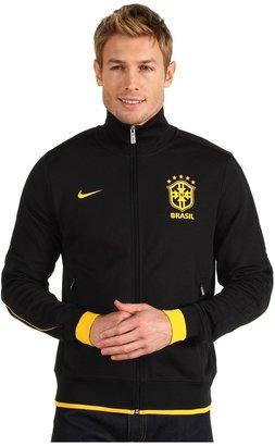 Nike CBF Authentic N98 Jacket (Black/Varsity Maize/Varsity Maize) - Apparel