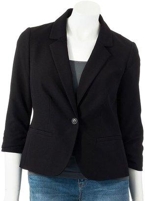Lauren Conrad solid blazer - women's
