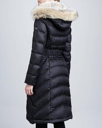 Dawn Levy Addison Fur-Trim Puffer Coat