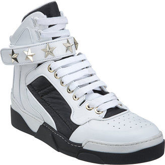 Givenchy Studded Strap High Top